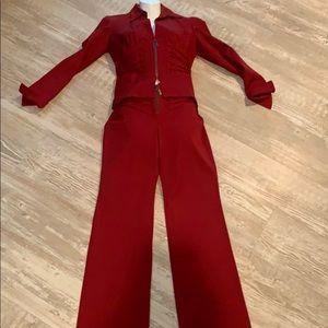 Vertigo Red Suit Made in France ❣️